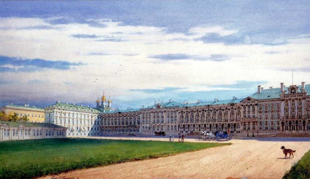 Екатериниский дворец в Царском Селе