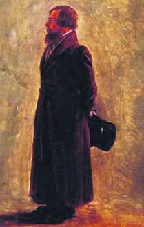 Единственное сохранившееся изображение Петра Телушкина